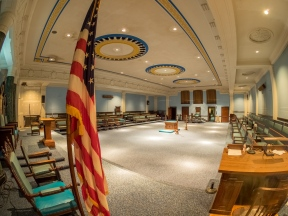 Lodge Room Masonic Temple