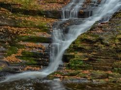 Dingmans Falls, Dingmans Ferry, PA, © 2016 Bob Hahn, Olympus OM-D/E-M5 II OLYMPUS M.60mm F2.8 Macro at 60 mm, ISO 200 Exposure: 1@f/22