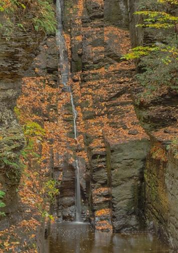 Silverthread Falls, Dingmans Ferry, PA, © 2016 Bob Hahn