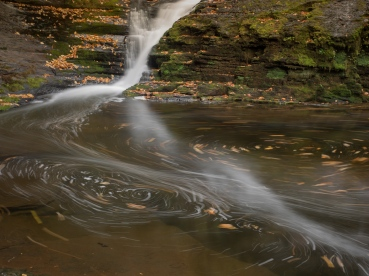 Dingmans Falls, Dingmans Ferry, PA, © 2016 Bob Hah