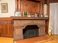 Wilbur Mansion Fireplace