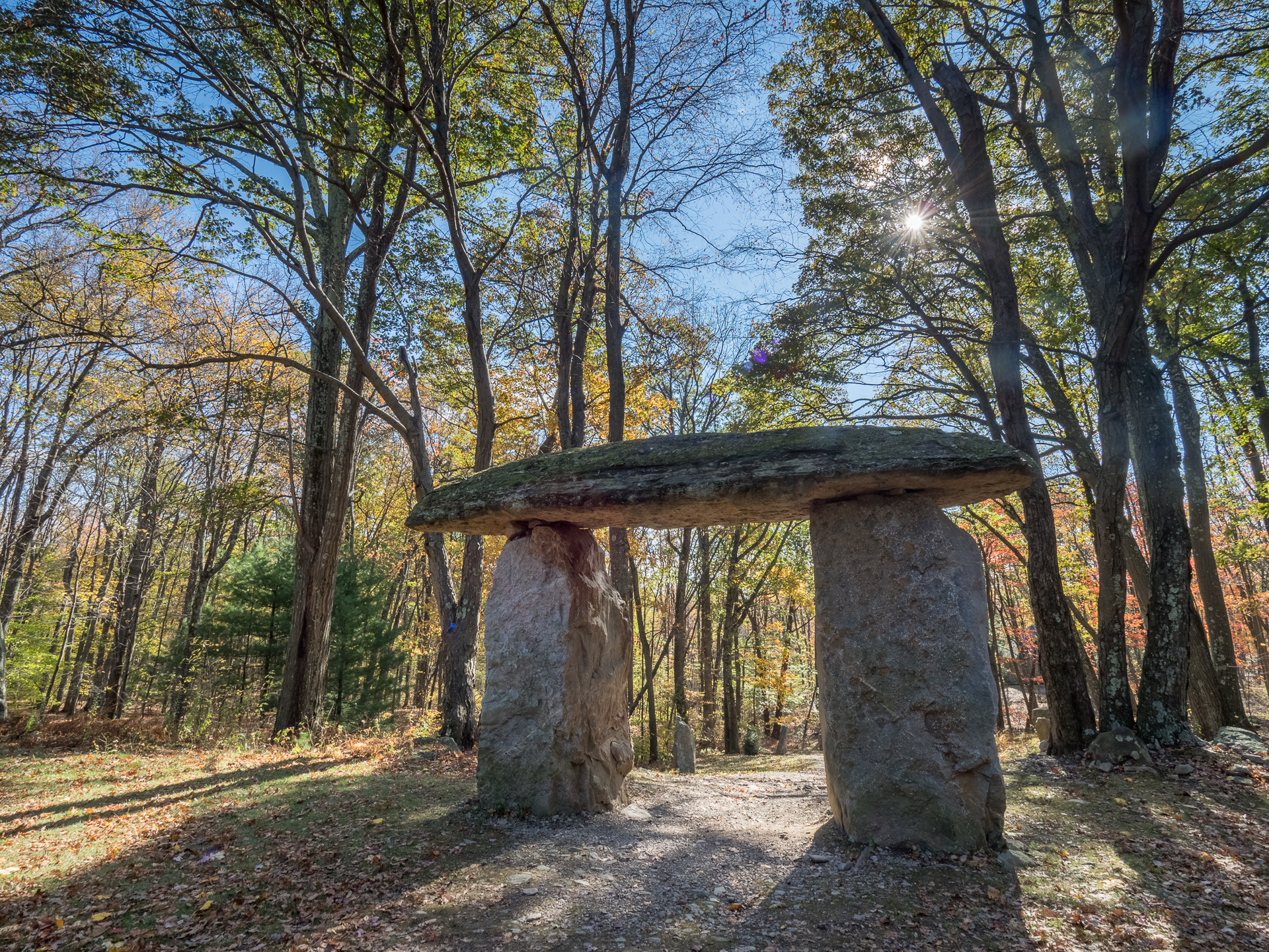 Thor's Gate, Columcille Megalith Park, Bangor, Pennsylvania, United States, © 2017 Bob Hahn