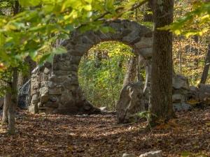 Sacred Woman's Site, Columcille Megalith Park, Bangor, Pennsylvania, United States, © 2017 Bob Hahn