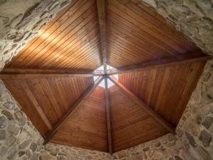 St. Columba Chapel , Columcille Megalith Park, Bangor, Pennsylvania, United States, © 2017 Bob Hahn