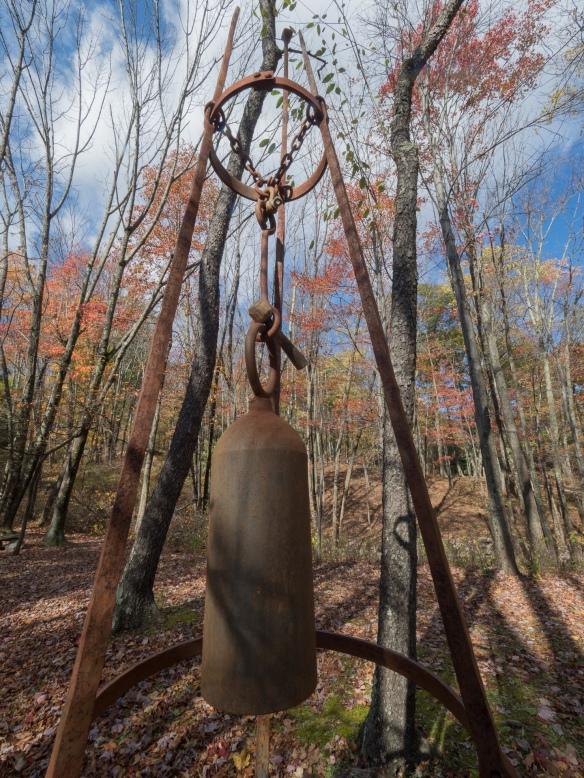 Bell, Columcille Megalith Park, Bangor, Pennsylvania, United States, © 2017 Bob Hahn